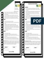 Lineamientos Para Pegar en El Cuaderno