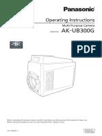 Panasonic AK UB300G
