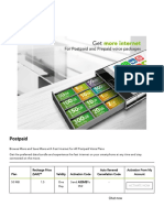 Postpaid 4G Internet Packages & Data Plans - Zain KSA