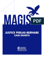 Justice Bernabe Case Digests, Ateneo