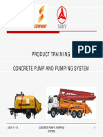 Construction Stationary Pump