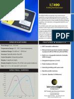 Radiometro ILT490 Data Sheet Jun14