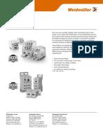 LIT1707E WPDB Power Distribution Blocks Datasheet v2