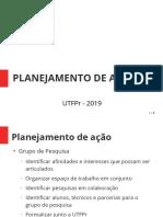 Estrategia de Ação - Grupo de Pesquisa e Revista