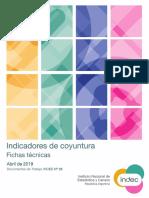 Indicadores Coyuntura Fichas 2019