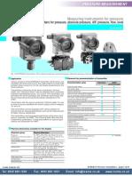 Sitrans p Pressure Transmitter Ic
