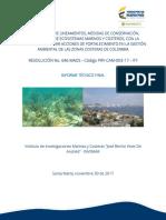 Elaborar Mapas de Sensibilidad Ambiental Hidrocarburos Costa Afuera