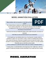 model animation evaluation