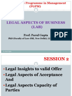 Legal Insights of Business