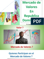 Diapositiva Mercado de Valores