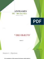 DB2-PPT-2-DB2 Objects V1.0