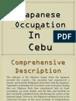 Japanese Occupation in Cebu
