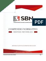 Compendio Normativo Bienes Muebles Actualizado Al 09-08-2018