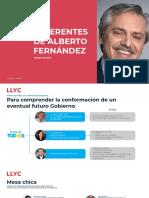 Referentes de Alberto Fernández
