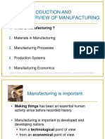 TM01 - Introduction and Overview of Manufacturing