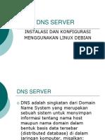 DNS Menggunakan Debian