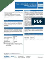 Datos Técnicos Especificaciones ANSULEX de Bajo PH