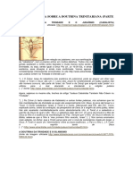 A Controvérsia Sobre a Doutrina Trinitariana Parte 2