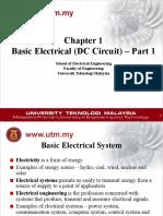 Chapter 1 - DC Circuit (Part 1)