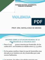 VIOLENCIA. PRIMERA  CLASE TC IV. PROF. MAYELA DIAZ.ppt