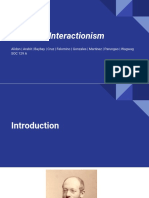Race and Ethnic Relations - Symbolic Interactionism