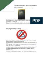 A Controvérsia Sobre a Doutrina Trinitariana Parte 3