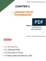 Baseband Pulse Transmision