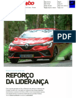 "NOVO RENAULT CLIO TCe 100 R.S. LINE NA ""TURBO-FROTAS"""