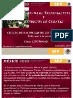 PRESENTACION_DIRECTOR_rendicion de Cuentas Nov 2010