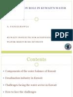 Amr Fadlelmawla-Desalination-Kuwait.ppt