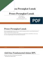 2. RPL - P2 - Proses Perangkat Lunak