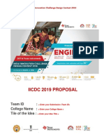 IICDC 2019 Proposal Submission Template