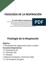 FISIOLOGIA DE LA RESPIRACIÓN UNMSM 2019