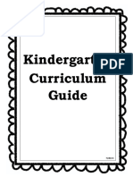 Kdg Standards Booklet