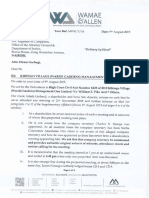 Kihingo Forgery Documents