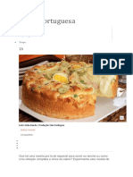Torta Portuguesa Com Presunto