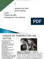 Curso Sensores Temperatura Motor Vibracion Alarma Luces Iluminacion Sistema Abs Arranque Motor Electrico Circuitos