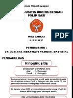 Rhinosinusitis kronik dan polip.