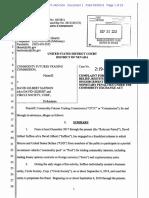 CFTC v Saffron