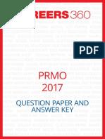 PRMO Question Paper 2017