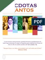 ANÉCDOTAS DE SANTOS (2) + Por Dora María Montoya.pdf