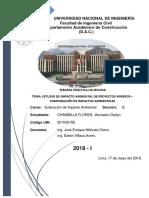 EIA de Proyectos mineros en Perú