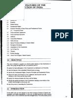 Features of constitution