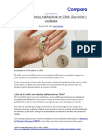 Crédito con leasing habitacional en Chile