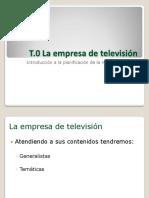 Introducción a la televisión