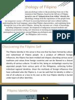 Psychology of Filipino