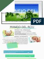 manejo y pronostico del rciu-para dr mendiguri.pptx