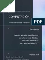 Proyecto de Evaluación Final Computación