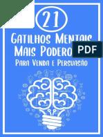 eBook- 21 Gatilhos Mentais Mais Poderosos Para Vendas e Persuasão