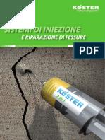 KOESTER Iniezione Fessure Crack Repair Systems Quinta Versione 06-07-2016